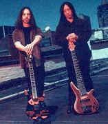 John Petrucci и John Myung